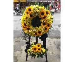 Hoa tang lễ màu vàng - DH400