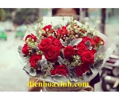 Bó hoa hồng - DH354
