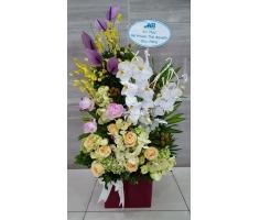 Giỏ hoa đẹp - DH286