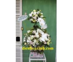 Giỏ hoa gọn đẹp - DH351
