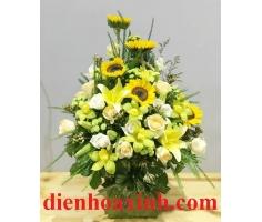 Giỏ hoa đẹp - DH309