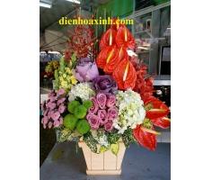 Lẵng hoa - DH361