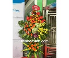 Hoa khai trương hà nội đẹp - DH63