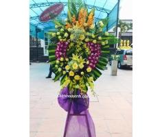 Vòng hoa đám ma hà nội - DH422