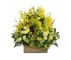 Lẵng hoa trang trí - DH145