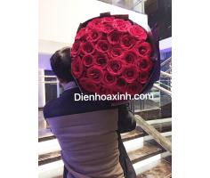 Bó hoa hồng sang trọng - DH421