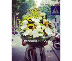 Bó hoa kiểu mới - DH1116