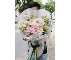 Hoa bó sang trọng - DH412