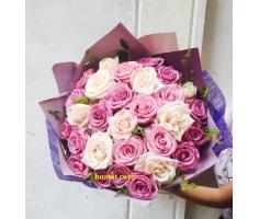 Hoa bó tròn đẹp - DH506