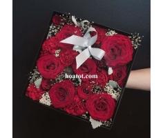 Hộp hoa tình yêu - DH516