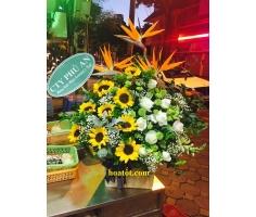Giỏ hoa giá rẻ - DH517