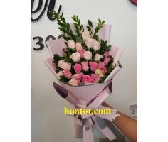 Hoa bó dài đẹp - DH574