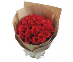 Bó hoa hồng đỏ thắm - DH196