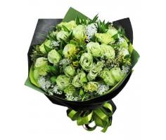 Bó hoa xanh - DH445
