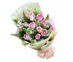 Hoa bó dài đẹp - DH431