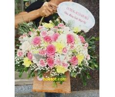 Giỏ hoa đẹp - DH901