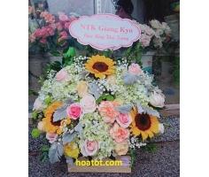 Giỏ hoa giá rẻ - DH902