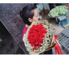 Bó hoa hồng - DH904
