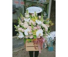 Hoa hộp gỗ - DH905