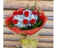 Hoa bó tròn đẹp - DH185