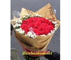 Hoa bó tròn đẹp - DH204