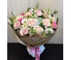 Hoa bó tròn đẹp - DH202