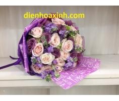 Hoa bó tròn mã- DH10