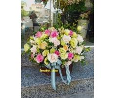 Giỏ hoa đẹp - DH742