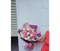 Bó hoa hồng - DH382