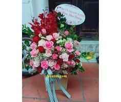 Giỏ hoa để bàn - DH692