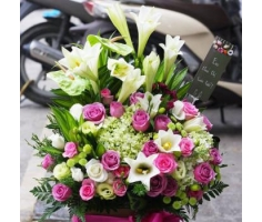 Lẵng hoa sinh nhật -DH460