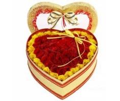 Hộp hoa tình yêu - DH316