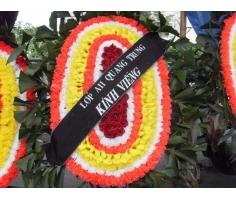 Vòng hoa tang lễ- DH117