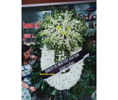 Hoa tang lễ trắng - DH839