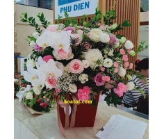 Giỏ hoa đẹp - DH730