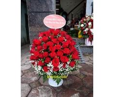 Giỏ hồng 99 bông - DH880