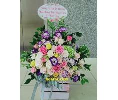 Giỏ hoa đẹp - DH722