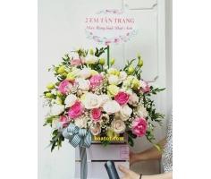 Giỏ hoa hồng - DH685