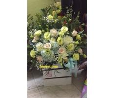 Giỏ hoa giá rẻ - DH716
