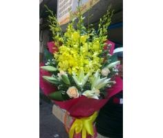 Hoa bó tặng thầy cô mã DH147