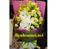 Hoa bó dài sang trọng - DH1033