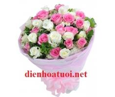 Bó hoa tròn - DH245