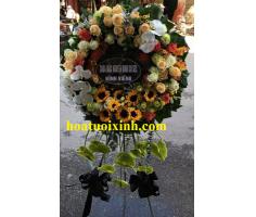 Hoa tang lễ kiểu mới - DH211