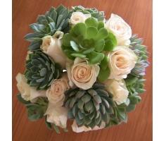 Hoa cưới sen đá - DH676