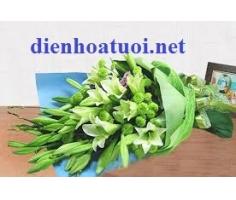 Bó hoa loa kèn - DH401