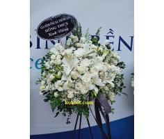 Kệ hoa tang lễ trắng - DH897