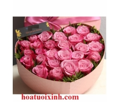 Hộp hoa đẹp - DH265