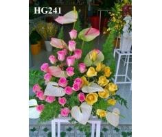 Giỏ hoa chúc mừng - DH137