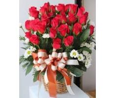 Giỏ hoa sinh nhật - DH208