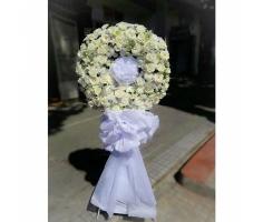 Hoa tang lễ hồng trăng - DH655